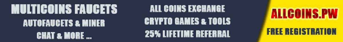 Allcoins Multicoin Crypto Faucet